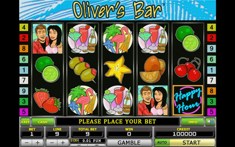 игровые автоматы oliver bar