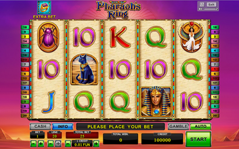 игровой автомат pharaohs gold iii novomatic