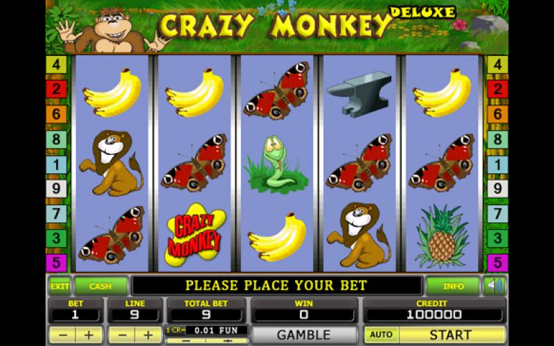 Скачать игровые автоматы на компьютер crazy monkey