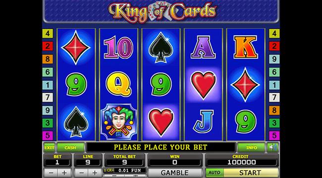 игровые автоматы игровой автомат king of cards